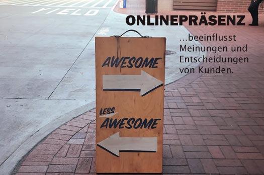 Social Media und Online Marketing beeinflussen die Meinungen und Entscheidungen von Kunden.