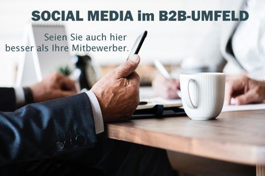 Mit Klick auf das Bild erfahren Sie, warum sie auch im B2B-Umfeld auf Social Media setzen sollten.