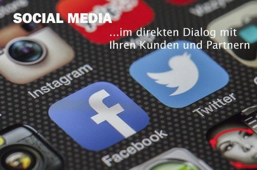 Mit Social Media im direkten Dialog mit Ihren Kunden und Partnern